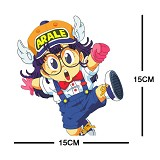 Dr.Slump glasses cloth