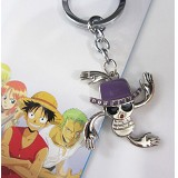 One piece Robin key chains