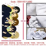 K-ON anime cotton bath towels