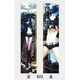 17cm black rock shooter anime ruler(10pcs)