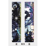 17cm black rock shooter anime rulter(10pcs)