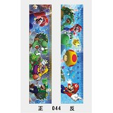 17cm super mario anime ruler(10pcs)