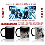 Ao no exorcist anime hot and cold color cup