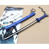 Ao no exorcist anime knife keychain