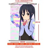 K-ON anime wallscroll