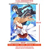 Sword Art Online anime wallscroll(60X90)BH836