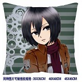 Attack on Titan anime double side pillow 3733