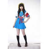 Suzumiya Haruhi anime cosplay costume dress cloth ...