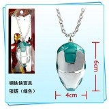Iron Man necklace(green)