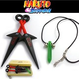 Naruto cos weapns+necklace