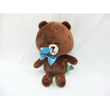 13inches Line bear anime plush doll