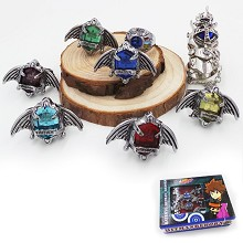 Reborn anime rings(8pcs a set)