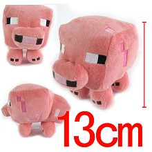 5inches Minecraft plush doll