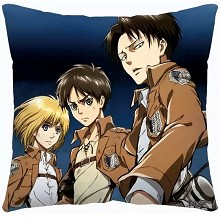 Attack on Titan two-sided pillow
