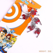 Fairy Tail red key chain