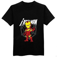 The Avengers Iron Man cotton black t-shirt