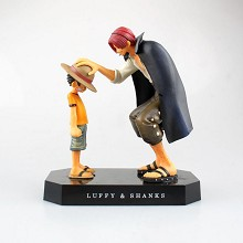 One piece figures a set