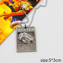 One Piece Sanji wanted necklace