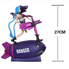 League of Legends Jinx figure