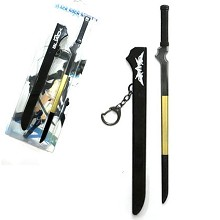 Black rock shooter weapon key chain 220mm