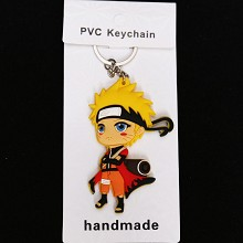 Naruto two-sided key chain