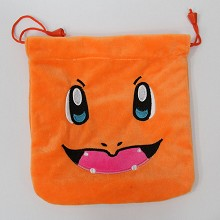 Pokemon plush drawstring bag