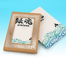 Gintama anime hard cover notebook