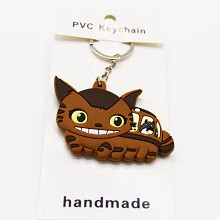 TOTORO PVC two-sided key chain