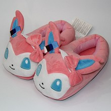 Pokemon plush shoes slippers a pair