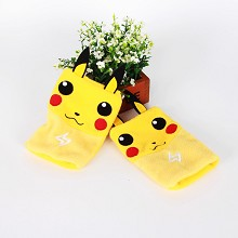 Pokemon plush gloves a pair
