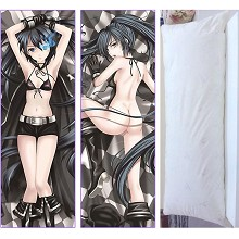 Black rock shooter two-sided pillow