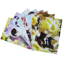 Reborn anime posters(8pcs a set)