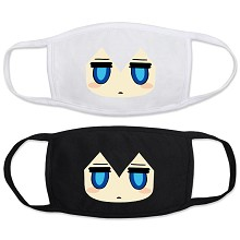 Blac Rock Shooter masks set(2pcs a set)