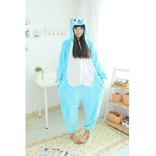 Fairy Tail flano bpyjama dress hoodie