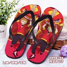 Naruto shoes slippers a pair