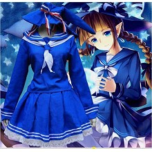 Wadanohara and the Great Blue Sea cosplay dress cloth a set