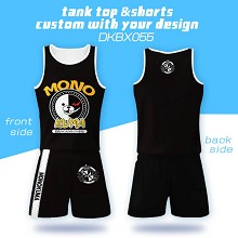 Dangan Ronpa anime vest+short pants a set