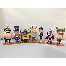 One Piece figures set(7pcs a set)