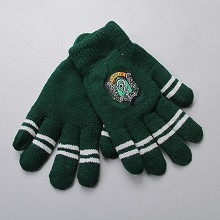 Harry Potter Slytherin gloves a pair