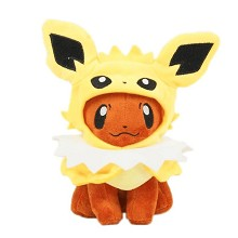 7inches Pokemon cos Jolteon plush doll