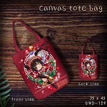 Date A Live canvas tote bag shopping bag