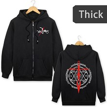 Fate thick hoodie cloth