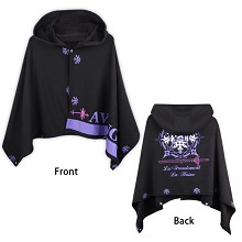 Fate Grand Order thick spun velvet cloak mantle cloth