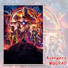 The Avengers Thanos wall scroll