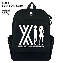 Darling in the FrankXX canvas backpack bag