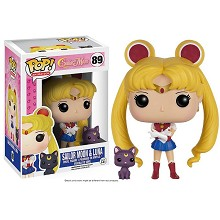 Funko-POP 89# Sailor Moon Luna figure