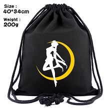 Sailor Moon drawstring backpack bag