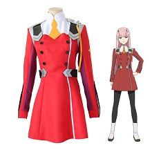 DARLING in the FRANXX Code:002 cosplay costume clo...