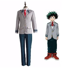My Hero Academia cosplay costume cloth dress