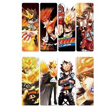 Reborn anime pvc bookmarks set(5set)